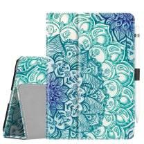Fintie Case for iPad Mini 5 (2019) / iPad Mini 4 - [Corner Protection] PU Leather Folio Stand Cover with Pencil Holder, Auto Sleep/Wake for New iPad Mini 5th Generation/iPad Mini 4, Emerald Illusions