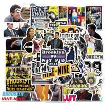 Brooklyn Nine-Nine Stickers 50pcs Drama Stickers Brooklyn 99 Merch