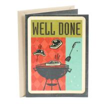 Hallmark Father's Day Card (BBQ Grill Fatherhood Done Right)