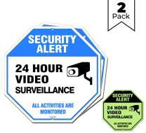 """Video Surveillance Sign Outdoor 