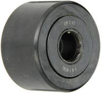 "McGill CYR2 1/2 Cam Yoke Roller, Unsealed, Inch, Steel, 2-1/2"" Roller Diameter, 1-1/2"" Roller Width, 3/4"" Inner Diameter, 1-9/16"" Overall Width, 1.69"" Endplate Diameter"