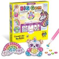 Creativity for Kids Big Gem Diamond Painting Kit - Create Your Own Magical Stickers & Suncatchers - Diamond Art for Kids