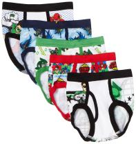 Handcraft Little Boys' Justice League  Brief (Pack of 5)