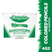 Crayola Colored Pencil Classpack, School Supplies, 14 Assorted Colors, 462 Count