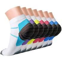 Compression Socks,15-20 mmhg is BEST Athletic for Men & Women, Running, Flight, Travel