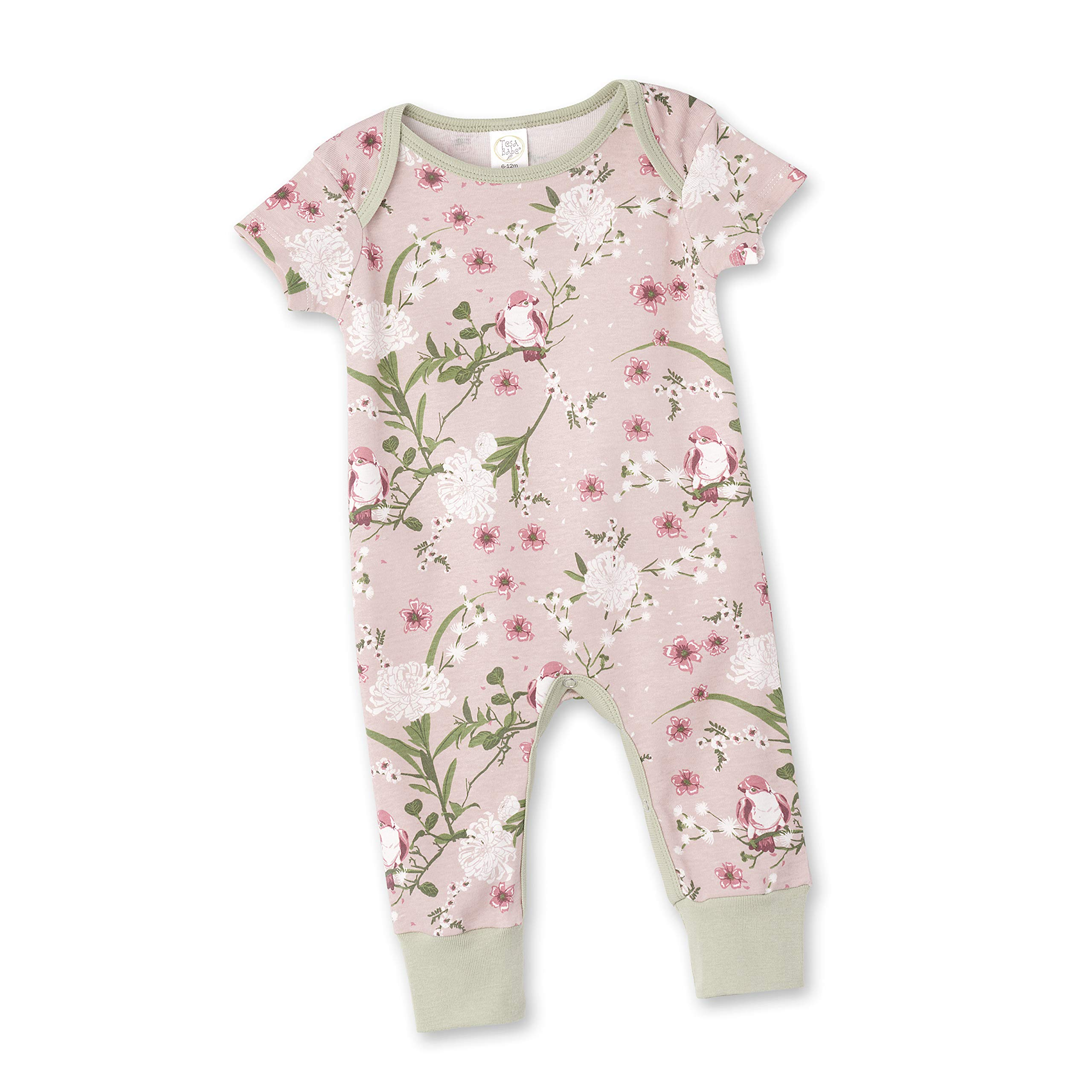 Tesa Babe Baby Girl Romper Gift Set for Newborn Baby Girls to Toddlers in Floral with Matching Headwear Multi