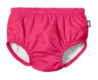 City Threads Baby Girls' and Boys' Swim Diaper Cover Reusable LeakProof for Swimming Pool Lessons Beach, Hot Pink, 0-3 Months