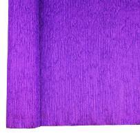 Just Artifacts Premium Metallic Crepe Paper Roll - 8ft Length/20in Width (Color: Purple)