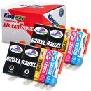 Kingway Compatible Ink Cartridge Replacement for HP 920XL Work with Officejet 6500 6500A 7500 7500A 7000 6000 E709 E710 Printer 10 Pack(4 Black,2 Cyan,2 Magenta,2 Yellow)