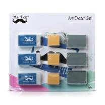 Mr. Pen- Erasers, Art Eraser, Kneaded Eraser, Pack of 9, Pencil Erasers, Gum Eraser, Drawing Supplies, White Eraser, Kneaded Erasers for Art, Sketching Supplies, Drafting Supplies, Kneadable Erasers