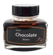KenTaur Premium European 50 ml (1.7 oz) Calligraphy Bottle Ink - Brown Color with a Subtle Chocolate Scent - Non-Toxic Water Based Austrian Ink for Fountain Pen/Dip Pen.