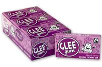 Glee Gum All Natural Mixed Berry Gum, Non GMO Project Verified, Eco Friendly, 16 Piece Box, Pack of 12