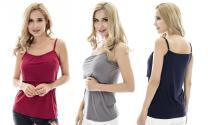 Bearsland Women's Maternity Clothes Nursing Tank Tops Breastfeeding Shirt