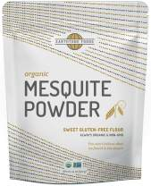 Mesquite Powder Organic | Premium Peruvian Raw USDA & Paleo Certified Vegan Flour - Natural Fiber - Perfect for Smoothies and Baking, 14 Ounces