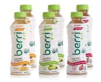 Berri Fit 3-Flavor Variety Pack, Organic Plant-Based Electrolyte Fitness Beverage, Natural Low-Calorie Alternative Sports Drink, Non-GMO, Paleo Friendly, 16oz, Pack of 6