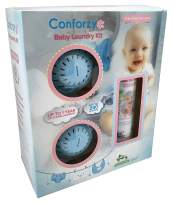 Conforzy Baby Laundry Kit for Sensitive Skin. Replacement for Regular Detergent. Eco-Friendly with no Harsh Chemicals. Save Money, 1 Year Worth of Laundry (Up-to 240 Washes)