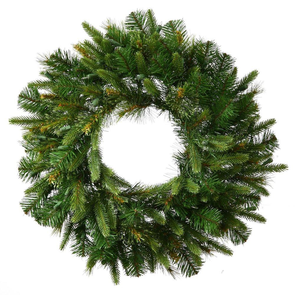 """Vickerman 36"""" Unlit Cashmere Wreath"""