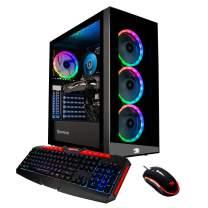 iBUYPOWER Pro Gaming PC Computer Desktop Element MR9270 (Intel Core i7-9700F 3.0GHz, NVIDIA GeForce RTX 2060 6GB, 16GB DDR4-2666 RAM, 1TB HDD, 240GB SSD, WiFi Included, Windows 10, VR Ready) Black