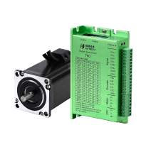 RTELLIGENT Nema 23 Stepper Closed Loop Servo Motor and Driver Kit 2 Phase 1.0NM 3.5A 57X57X73mm with Encoder