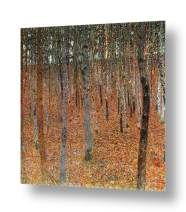 """Alonline Art - Forest by Gustav Klimt 