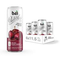 Bai Bubbles, Sparkling Water, Bolivia Black Cherry, Antioxidant Infused Drinks, 11.5 Fluid Ounce Cans, 6 count