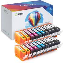 Odoga Ink Cartridge PGI-225 CLI-226 High Yield Combo Pack Replacement MG5220 MG5320 MG6220 MG6120 MG8120 iP4820M X885 MX892 MX895 MX882 [4 XL Black, 4 Black, 4 Cyan, 4 Magenta, 4 Yellow]