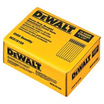 DEWALT DCS16150 2 Pack 1-1/2in. 16 Gauge Straight Finish Nail (25,000 per Box)