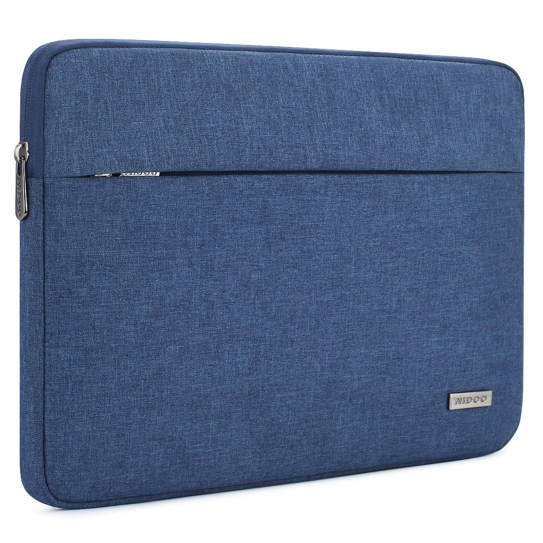 """NIDOO 13.3 Inch Laptop Sleeve Case Water-Resistant Computer Bag Portable Protective for 13"""" MacBook Air 2014-2017/13.5"""" Surface Book / 13.3"""" ThinkPad L380 L390 Yoga / 13.9"""" Lenovo Yoga C930,Blue"""