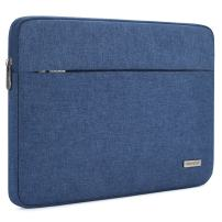 "NIDOO 14 Inch Laptop Sleeve Case Water-Resistant Portable Computer Carrying Hand Bag Pouch for 14"" Lenovo Chromebook S330 / ThinkPad E490 T490 T490s T590 / HP ProBook 645 G4 / Acer Swift 5 7,Blue"