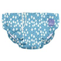 Bambino Mio, Reusable Swim Diaper , Ocean Drop , Medium (6-12 Months)