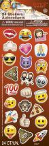 Emoji Puffy Sticker Sheet