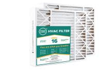 Green Label HVAC Air Filter 20x25x5, AC Furnace Air Ultra Cleaning Filter MERV 16 - Pack of 2