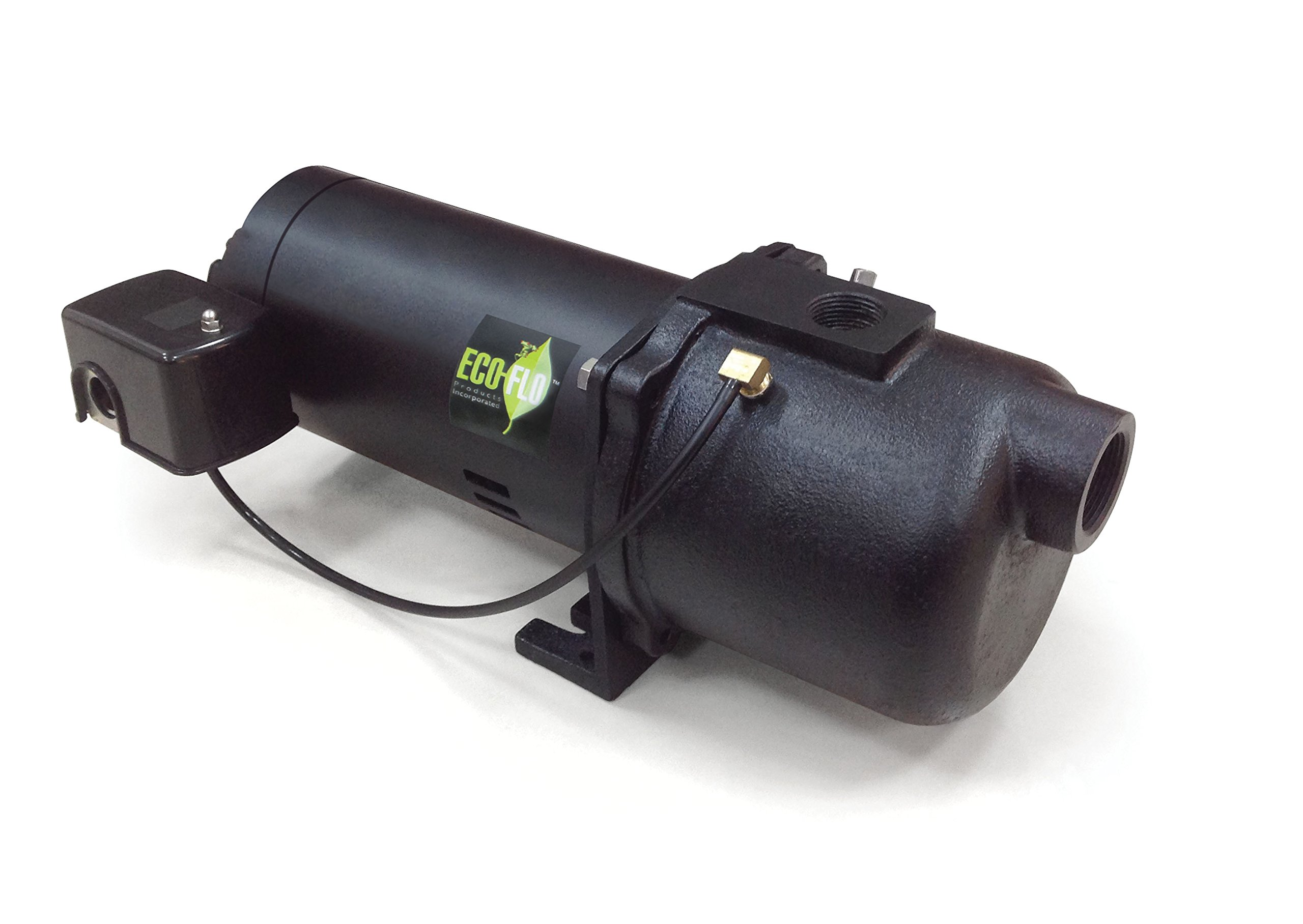 ECO-FLO Products EFSWJ5 Shallow Water Well Jet Pump, 1/2 HP, 7 GPM