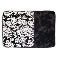 """Microfiber Dish Drying Mat 16""""x13.5"""" Florals Printing Best for Home & Kitchen - Pack of 2"""