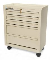 Lakeside BV05 Super Saver Bedside Cart, Metal, 5 Drawer (Fully Assembled)