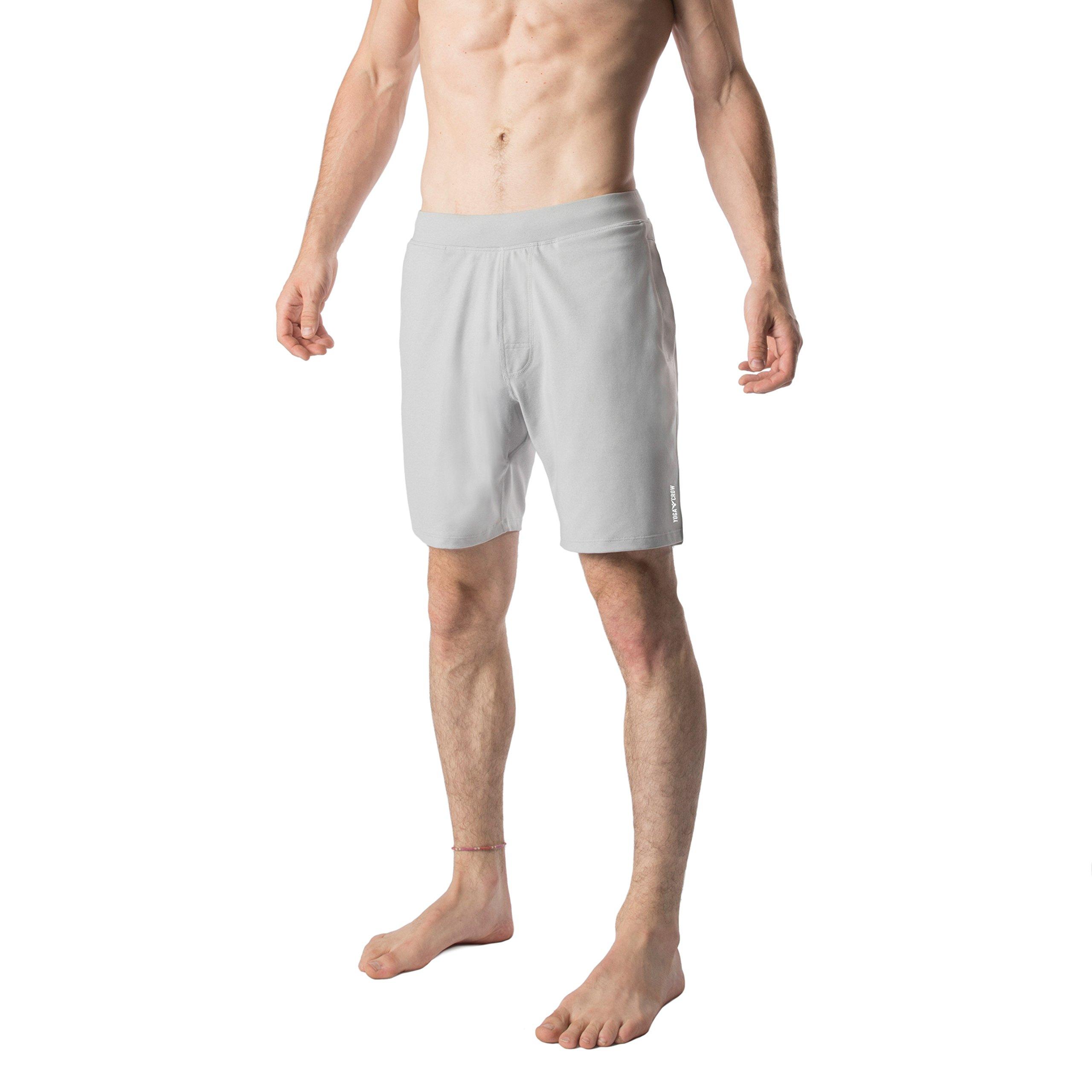YOGA CROW Mens Swerve Shorts w/Odor-Resistant Inner Liner