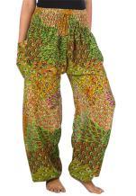 LOFBAZ Elephant Harem Pants for Women S-4XL Plus Yoga Hippie Boho PJ Clothing