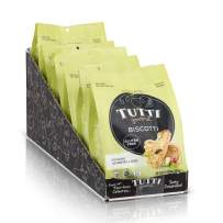 Tutti Gourmet Gluten Free Biscotti Cookie – Pistachio & Cranberry - 6 x 6.34 oz bags - Gluten Free Snacks - Allergen Friendly – Free From Dairy, Soy, Corn, Soy.