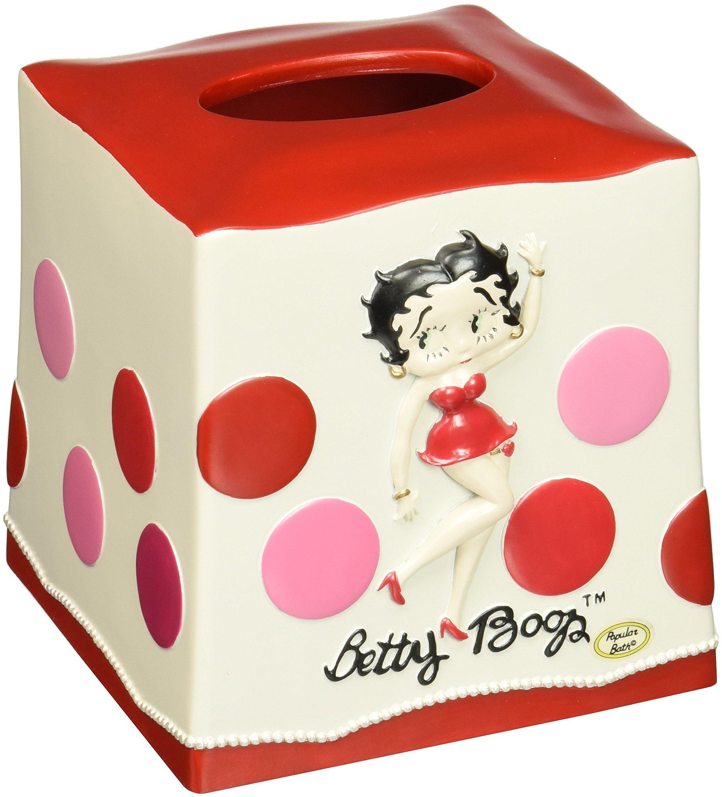 Popular Bath Hello Betty Tissue Box