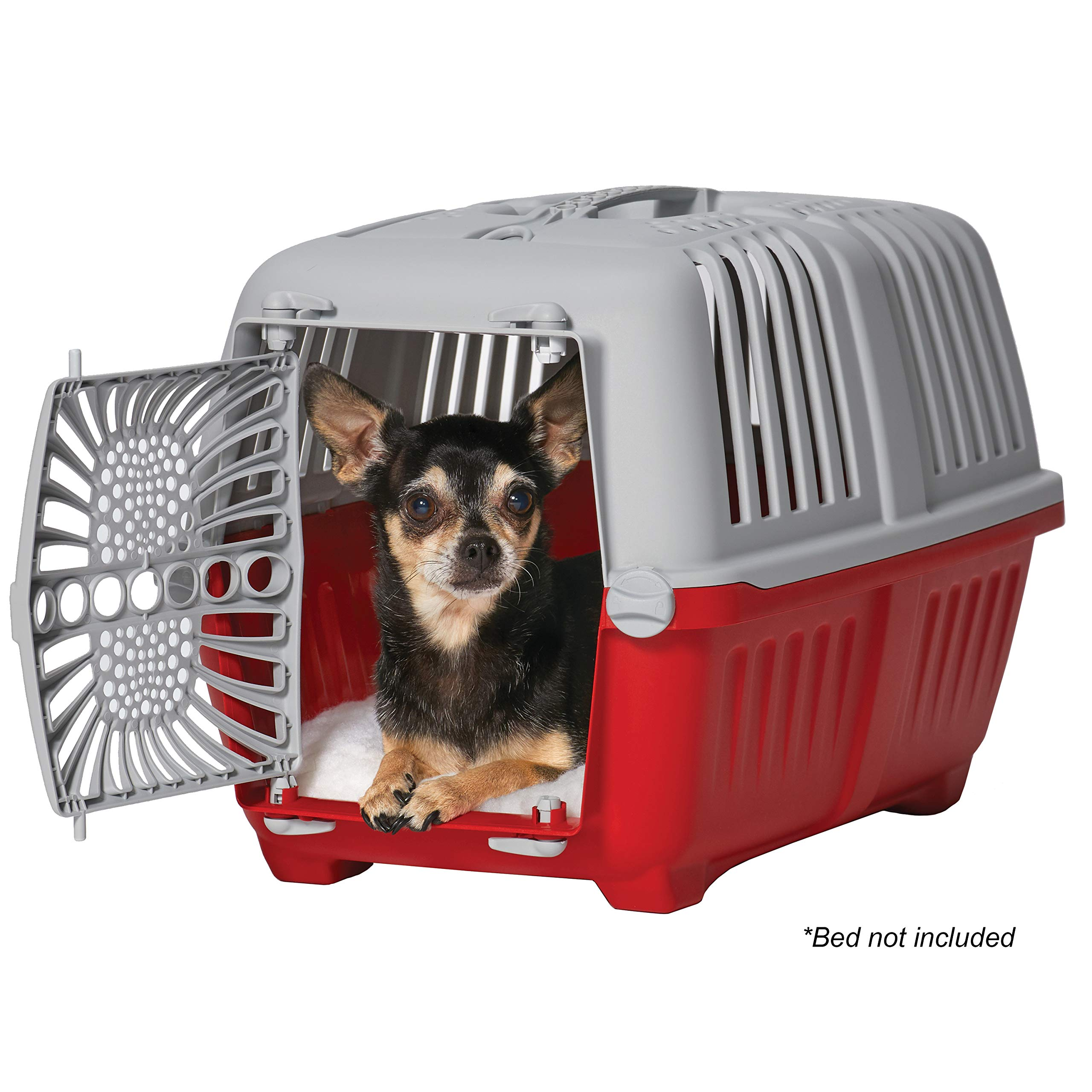 Midwest Spree Travel Carrier   Hard-Sided Pet Carriers Ideal for Extra-Small Dogs, Cats & Other Small Animals