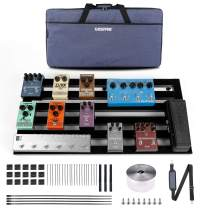 Ghost Fire Guitar Pedal Board Aluminum Alloy Super light Effect Pedalboard with Carry Bag (31.5''x15.5'' SPL-08)