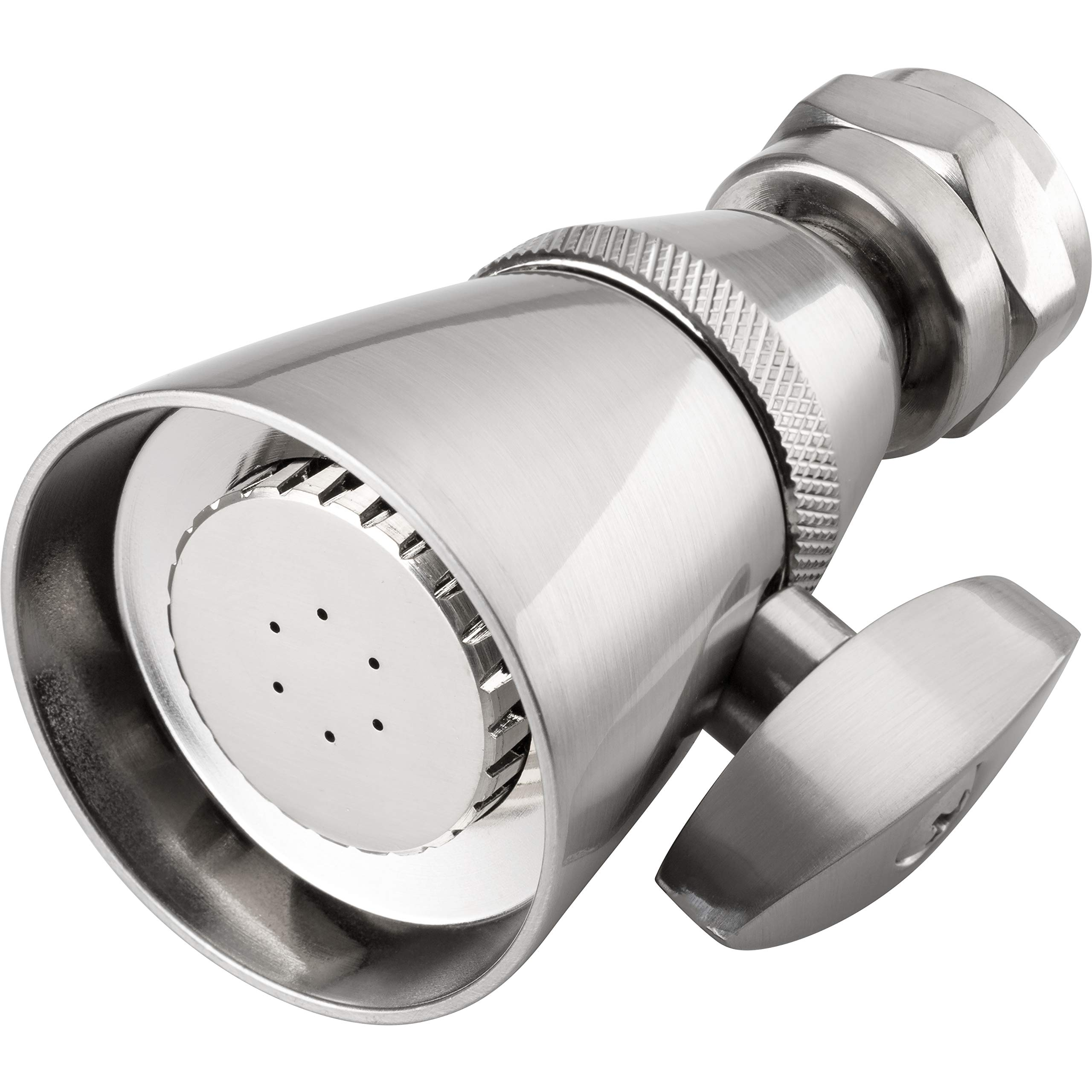 Pacific Bay Kelso 1 3/4-inch Brass Shower Head (Brushed Satin Nickel Plated)