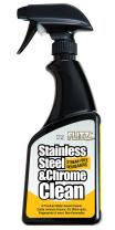 Flitz Stainless Steel Cleaner and Polish For Appliances, Streak Free Shine for Refrigerators, Dishwashers, Sinks, BBQ Grills, Ovens and More, 16 oz, Single