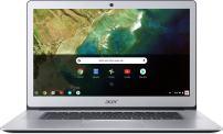 "Acer Chromebook 15 CB515-1HT-P39B, Pentium N4200, 15.6"" Full HD Touch, 4GB LPDDR4, 32GB Storage, Pure Silver"