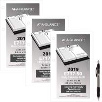 "AT-A-GLANCE Daily Desk Calendar Refill, January 2019 - December 2019, 3-1/2"" x 6"", Loose Leaf (E71750) 3 Pack & 1 Black Ballpoint Pen"