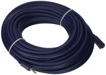 C2G 40611 Velocity 3.5mm M/F Stereo Audio Extension Cable, Blue (50 Feet, 15.24 Meters), 50ft