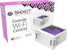 Swidget Wi-Fi Power Control Insert - Works with Swidget Smart Outlet, Wi-Fi Outlet, Wi-Fi Plug, Smart Plug, Amazon Alexa, Google Assistant, IFTTT, etc. to make your home a smart home.