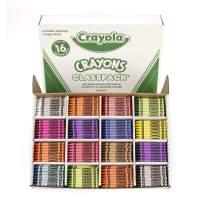 Crayola Crayon Classpack, School Supplies, 16 Colors (50 Each), 800 Ct
