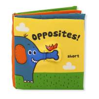Melissa & Doug Soft Activity Book - Opposites, The Original (Developmental Toy, Machine Washable, Great Gift for Girls and Boys - Best for Babies, Toddlers, All Ages)