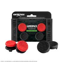 KontrolFreek Gamerpack Inferno + Omni Performance Thumbsticks for Xbox One and Xbox Series X | 2 High-Rise (Inferno) 2 Low Rise (Omni)